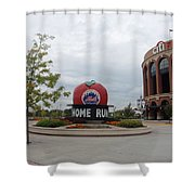 Citi Field Shower Curtain by Rob Hans