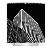 City Relief Shower Curtain by Dave Bowman