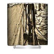 Civil War  Duty Belt Shower Curtain by Paul Ward