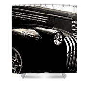 Classic Chevy Truck Shower Curtain by Optical Playground By MP Ray