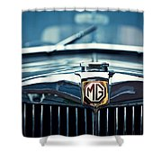 Classic Marque Shower Curtain by Dave Bowman