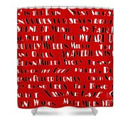 Classic Movie Musicals Shower Curtain by Andee Design