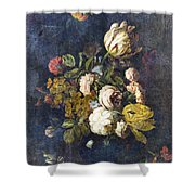 Classical Bouquet - S0104t Shower Curtain by Variance Collections