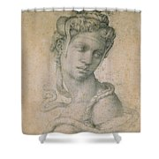Cleopatra Shower Curtain by Michelangelo