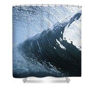 Cloud 9 Shower Curtain by Sean Davey