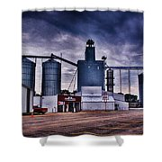 Co-op 2 Shower Curtain by Todd and candice Dailey