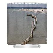 Coastal Vision Shower Curtain by Hugh Reynolds