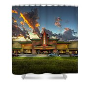 Cobb Theater Shower Curtain by Marvin Spates