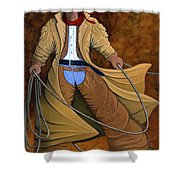 Cody Shower Curtain by Lance Headlee