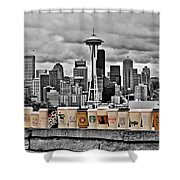 Coffee Capital Shower Curtain by Benjamin Yeager