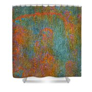 Color Abstraction Xii Shower Curtain by David Gordon