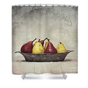 Color Does Not Matter Shower Curtain by Priska Wettstein