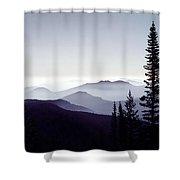Colorado Haze Shower Curtain by Adam Romanowicz