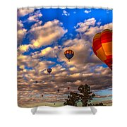 Colorado River Crossing 2012 Shower Curtain by Robert Bales