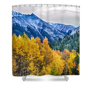 Colorful Crested Butte Colorado Shower Curtain by James BO  Insogna