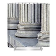 Columns Shower Curtain by Jon Neidert