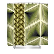 Composition 231 Shower Curtain by Terry Reynoldson