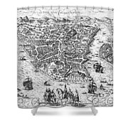 Constantinople, 1576 Shower Curtain by Granger