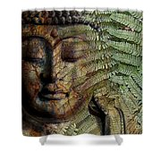 Convergence Of Thought Shower Curtain by Christopher Beikmann