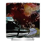 Converse Sports Shoes Shower Curtain by Toppart Sweden