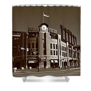 Coors Field - Colorado Rockies 17 Shower Curtain by Frank Romeo