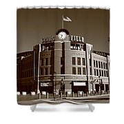 Coors Field - Colorado Rockies 19 Shower Curtain by Frank Romeo