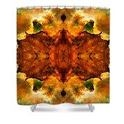 Cosmic Kaleidoscope 2  Shower Curtain by The  Vault - Jennifer Rondinelli Reilly