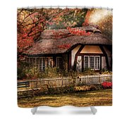 Cottage - Nana's House Shower Curtain by Mike Savad