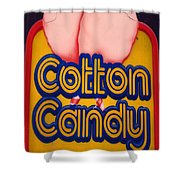 Cotton Candy Shower Curtain by Skip Willits
