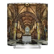 Count Your Blessings Shower Curtain by Evelina Kremsdorf