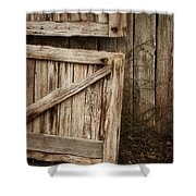 Country Charm Shower Curtain by Amy Weiss