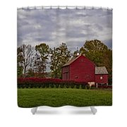 Country Life Shower Curtain by Susan Candelario
