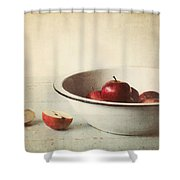 Country Morning Shower Curtain by Amy Weiss