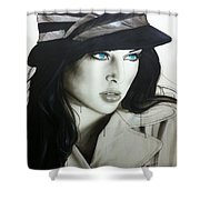 'couture' Shower Curtain by Christian Chapman Art