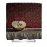 Cox Orange Apples Shower Curtain by Priska Wettstein