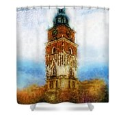 Cracov City Hall Shower Curtain by Mo T