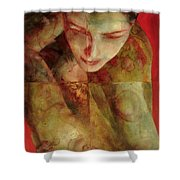 Cradlesong Shower Curtain by Graham Dean