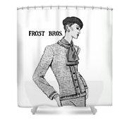 Cravat Shower Curtain by Sarah Parks