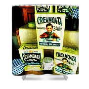 Creamoata - Cream  O' The Oat Shower Curtain by Steve Taylor
