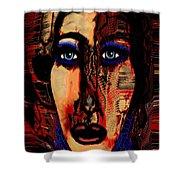 Creative Artist Shower Curtain by Natalie Holland