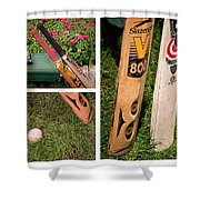 Cricket Series Shower Curtain by Tom Gari Gallery-Three-Photography