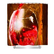 Cristallo 2 Shower Curtain by Marcello Cicchini