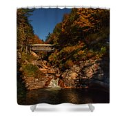 Crossing Over Shower Curtain by Jeff Folger