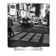 Crosswalk Shower Curtain by Dan Sproul