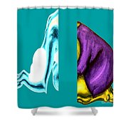 Crushing Emotion Shower Curtain by Patrick J Murphy
