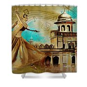 Cultural Dancer Shower Curtain by Catf