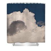 Cumulus Congestus Shower Curtain by Sue Smith