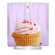 Cupcake Shower Curtain by Elena Elisseeva