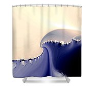 Current Shower Curtain by Kevin Trow