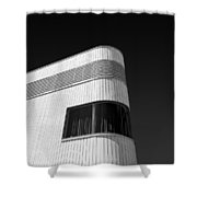 Curved Window Shower Curtain by Dave Bowman